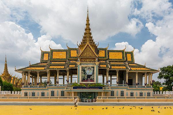 Mekong Flusskreuzfahrt Vietnam/ Kambodscha, Heritage Line: Ausflug/ Exkursion Phnom Penh