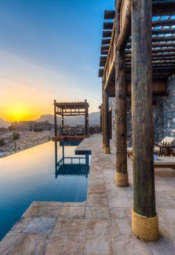 Alila Jabal Akhdar, Luxushotel Oman – Luxusoase in den Hadjar-Bergen