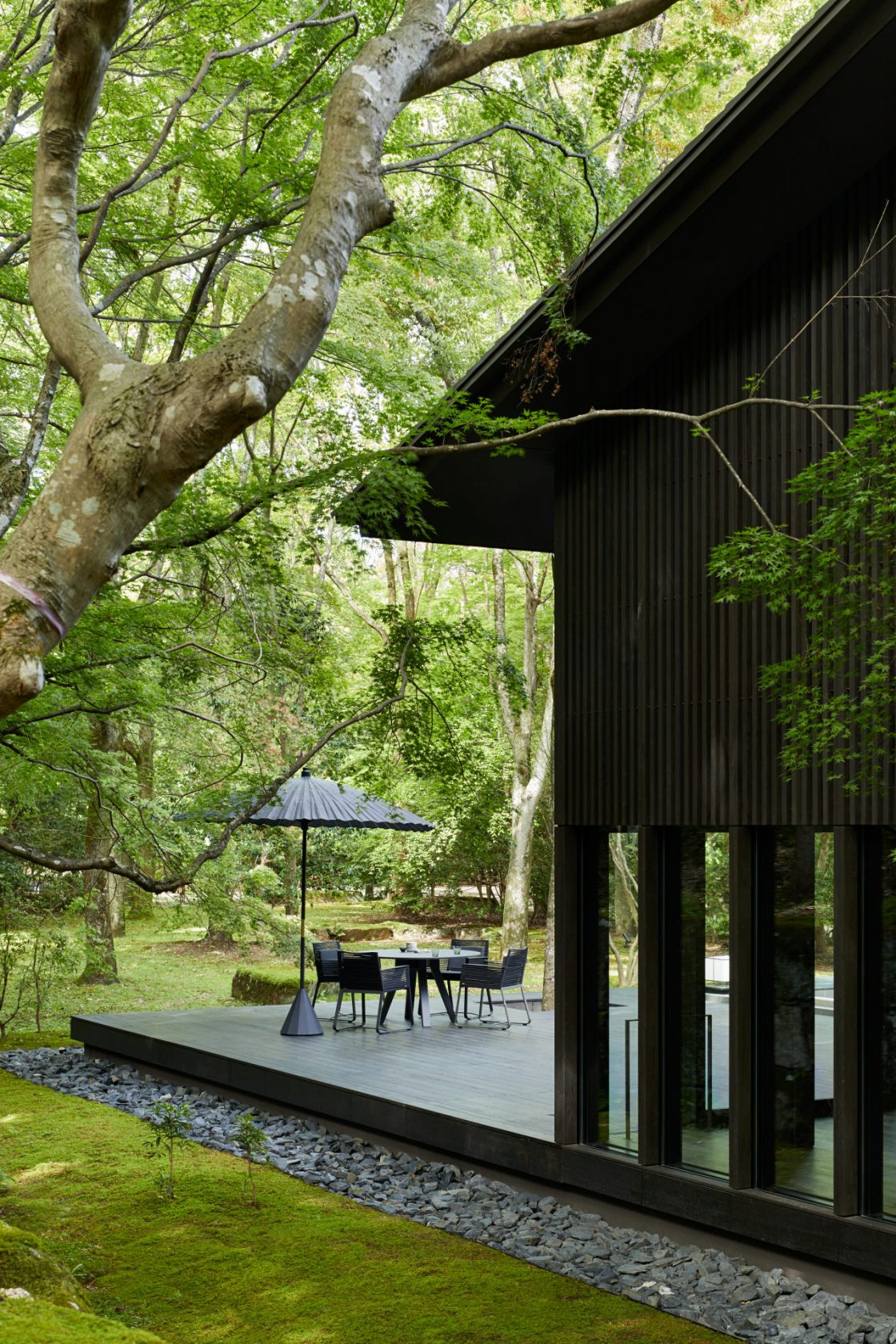 Aman Kyoto, Japan, The Living Pavilion by Aman