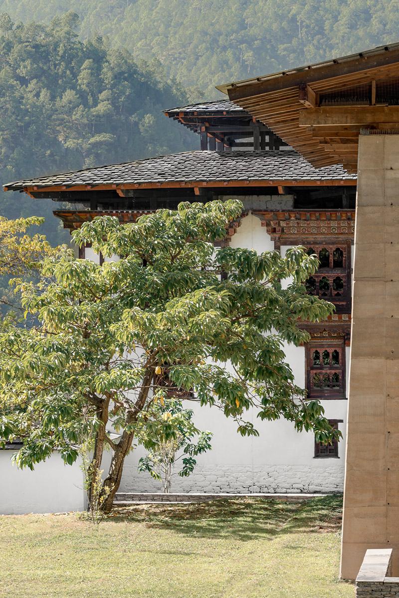 Amankora Punakha, Bhutan – Gartenanlage