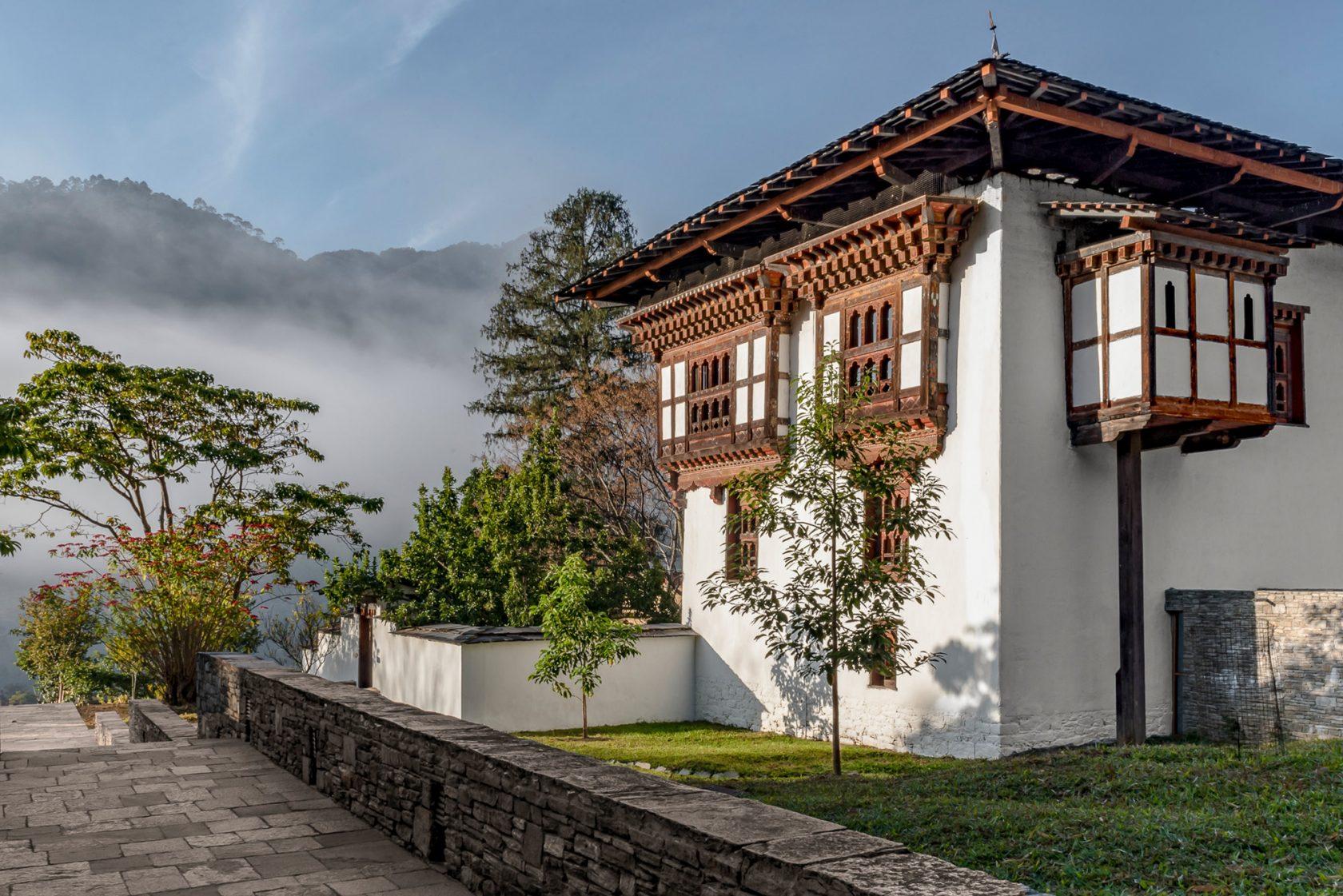 Amankora Punakha, Bhutan – Außenanblick