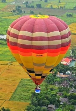 Anantara Chiang Mai - Heißluftballonfahrt