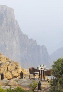 Anantara Al Jabal Al Akhdar, Oman – Dining by Design