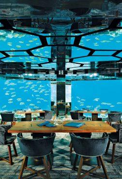 Unterwasserrestaurant Anantara Kihavah Villas