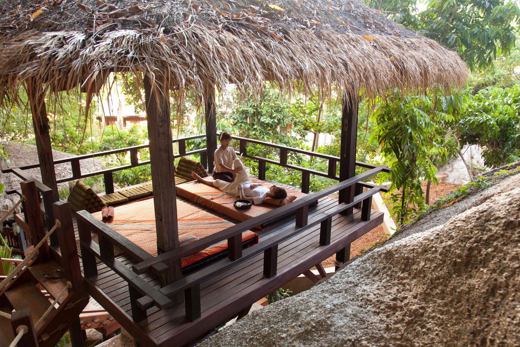 Anantara Rasanada Resort Outdoor Massage