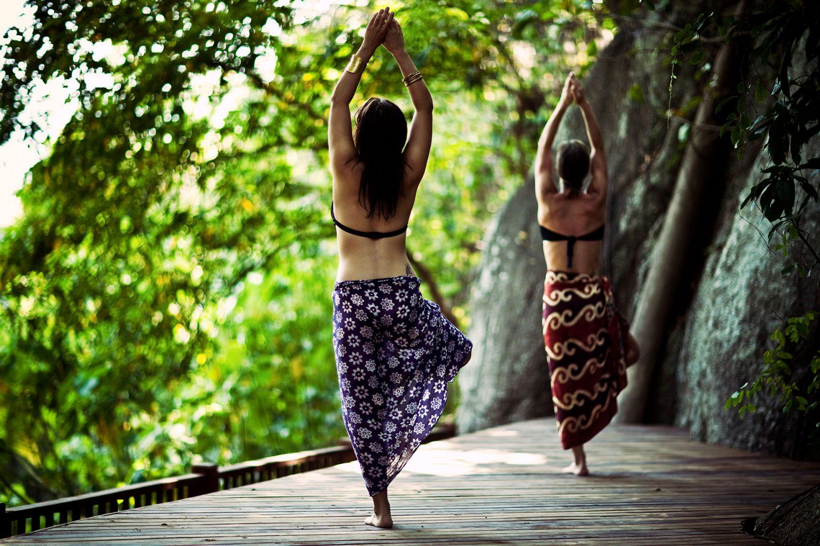 Anantara Rasanada Resort Yoga Class