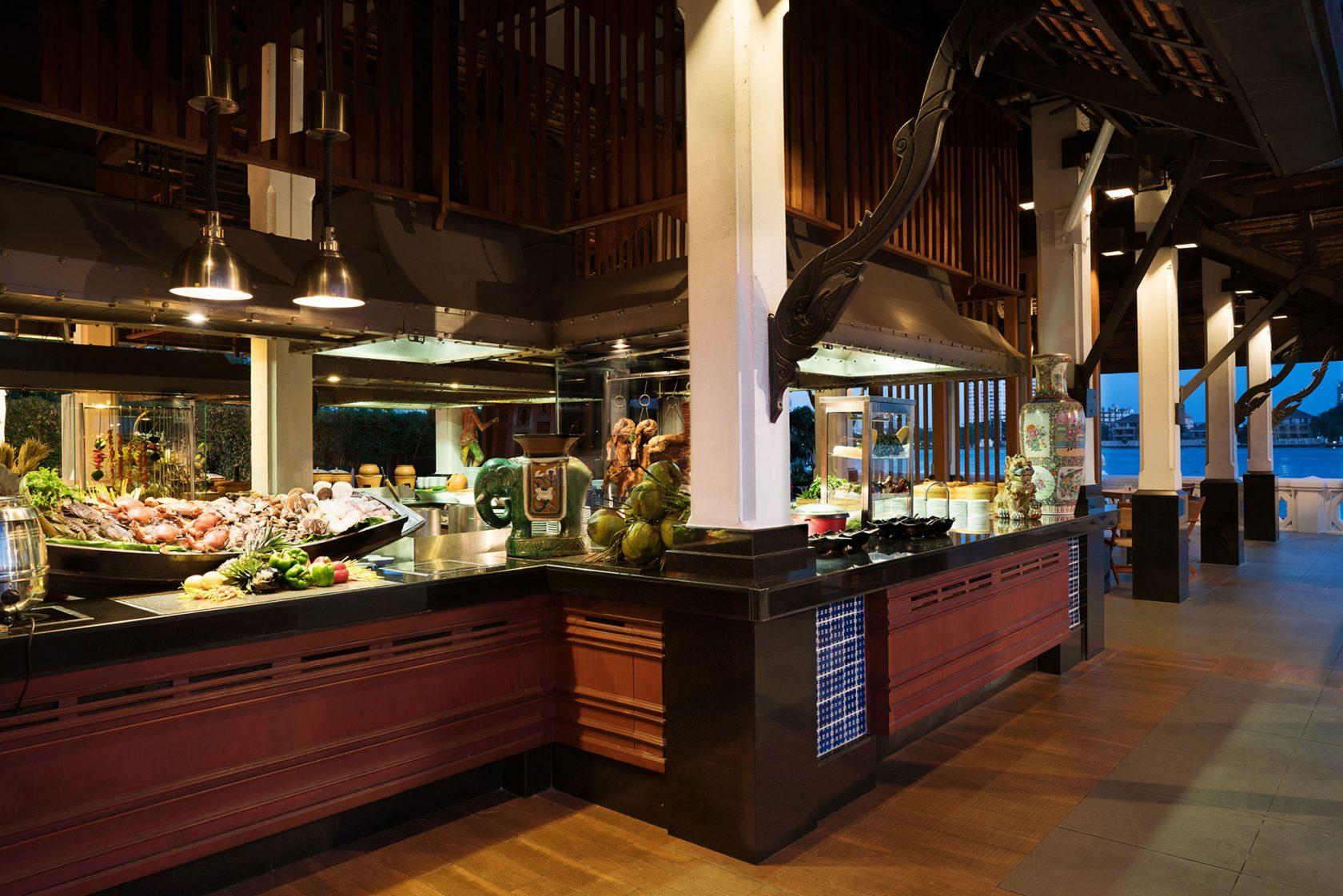 Anantara Riverside Bangkok Terrace Open Kitchen
