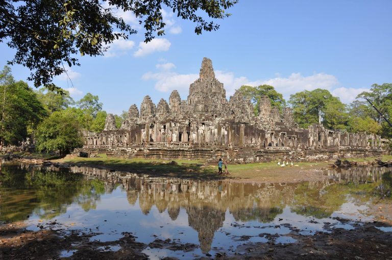 Angkor Thom in Siem Reap