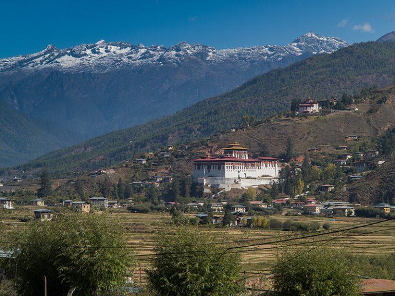 Privatreise, Rundreise Bhutan: Paro Dzong