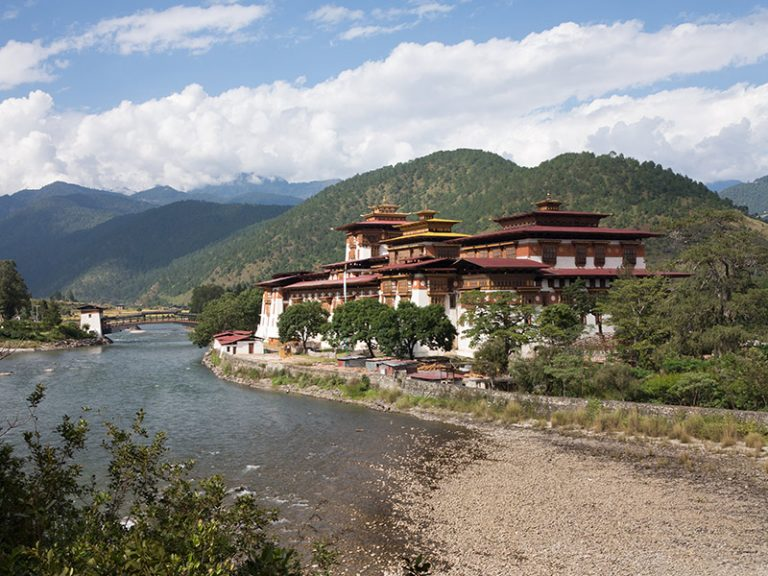 Privatreise, Rundreise Bhutan: Punakha Dzong