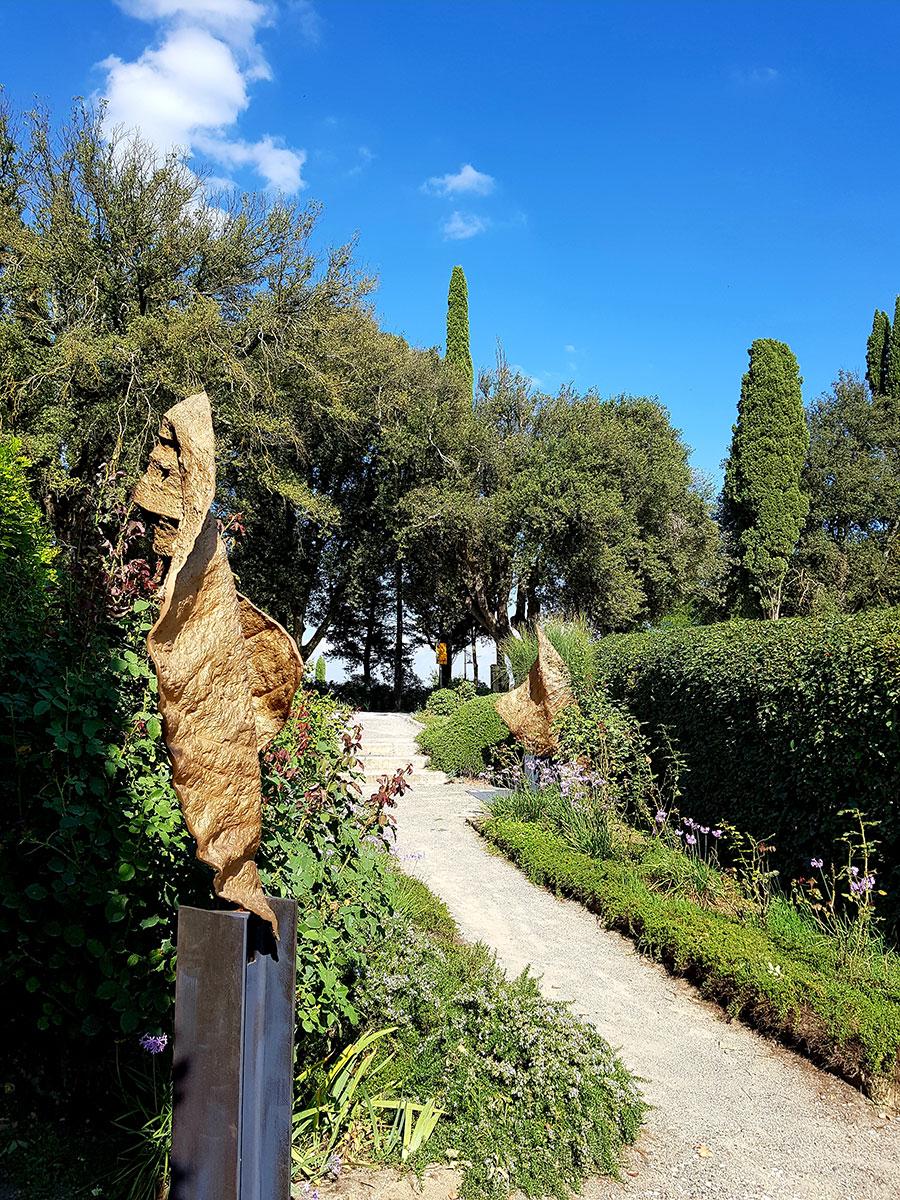 Borgo Pignano Garten