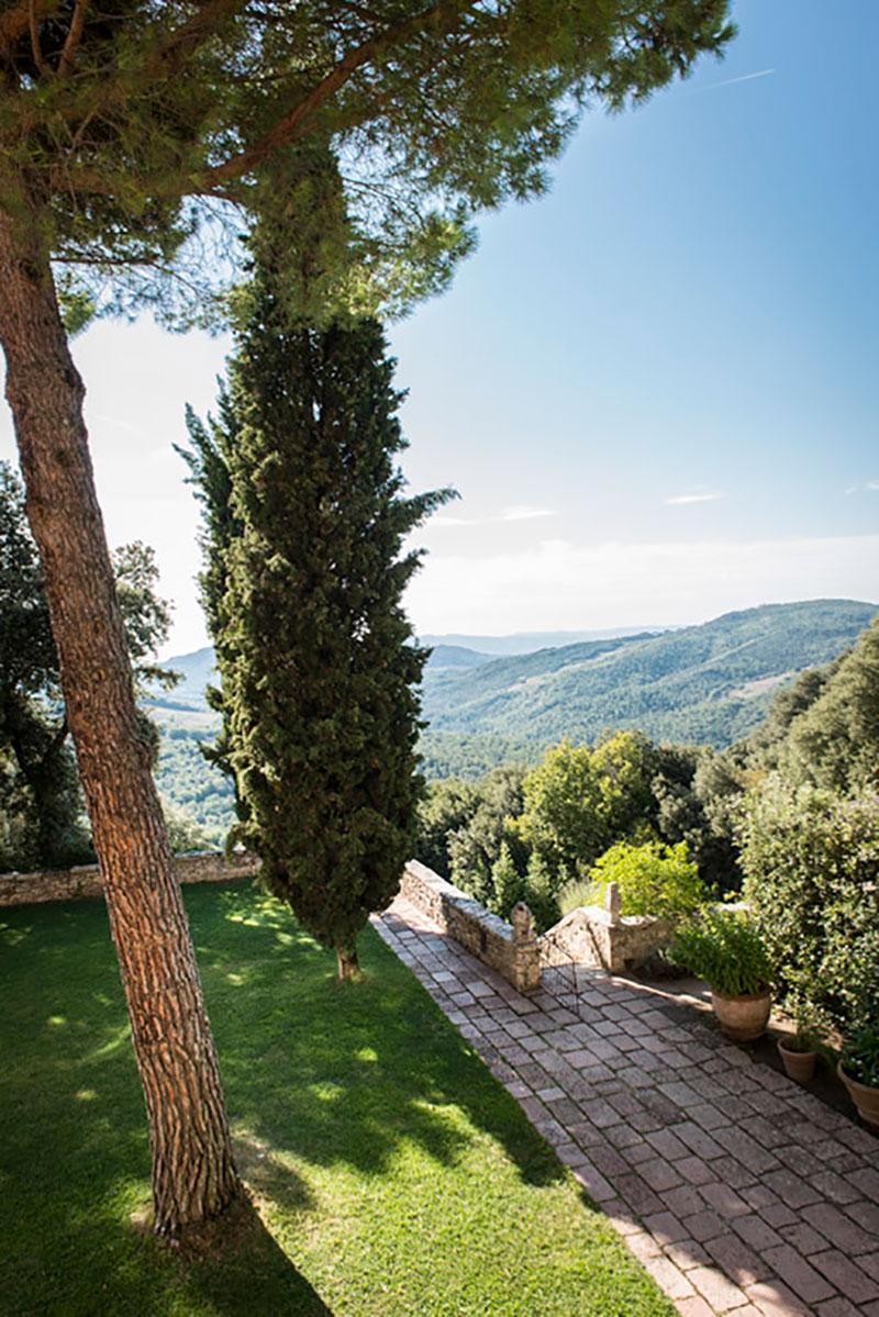 Borgo Pignano Landschaft