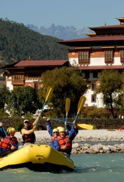 COMO Uma Punakha - Wildwasser Rafting