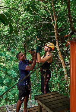 Constance Ephelia Seychelles - Zip-Line Abenteuer