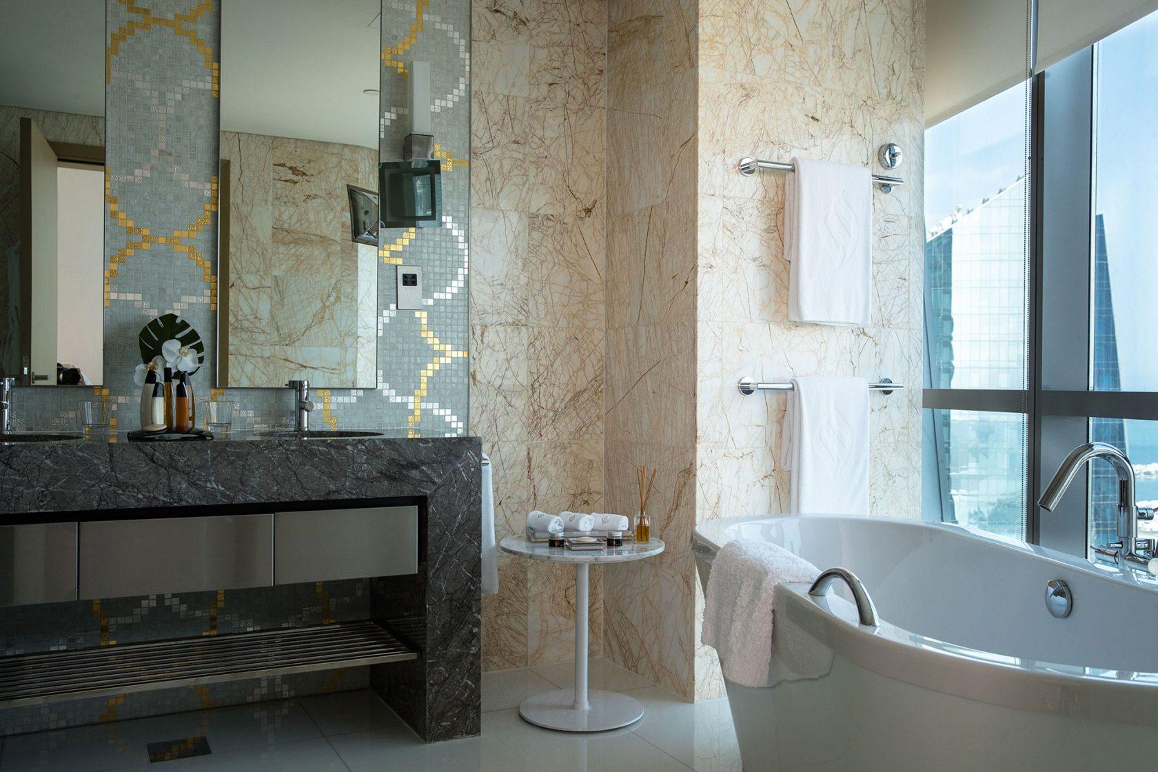 Conrad Abu Dhabi Etihad Towers Bathroom