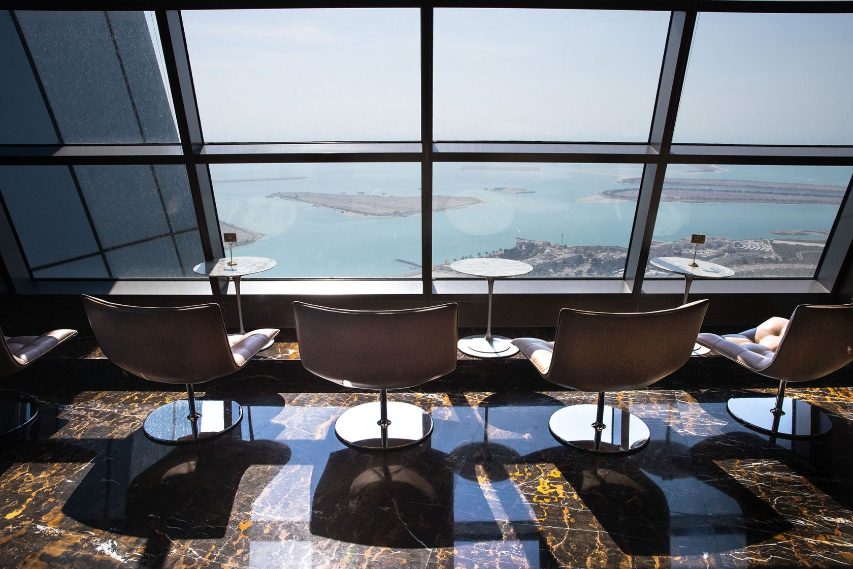 Conrad Abu Dhabi Etihad Towers Observation Deck at 300