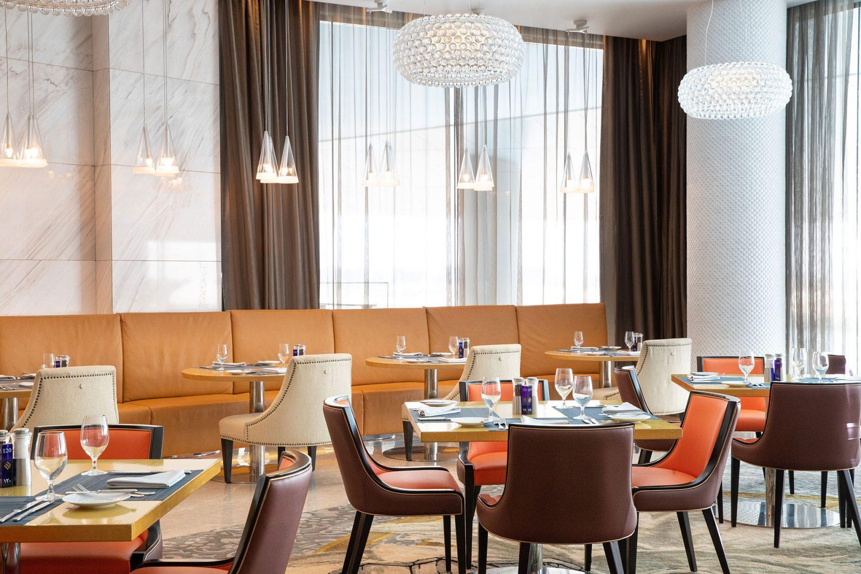 Conrad Abu Dhabi Etihad Towers Rosewater Restaurant