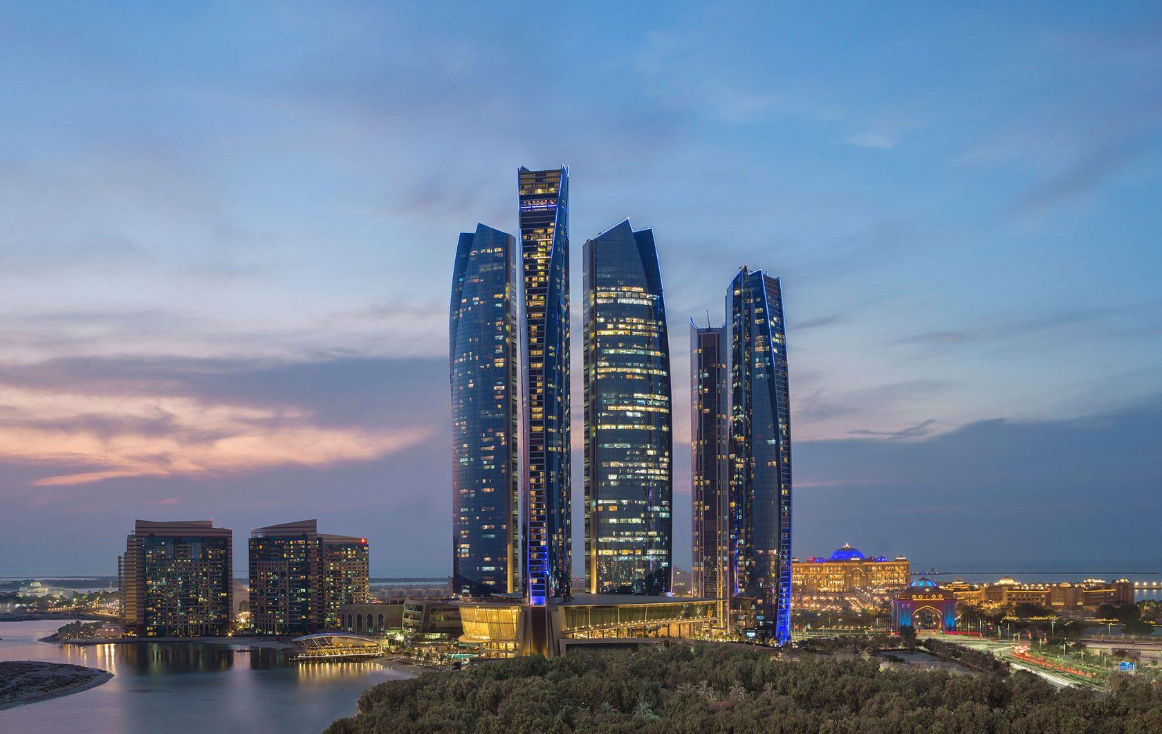 Conrad Abu Dhabi Etihad Towers Tower shot