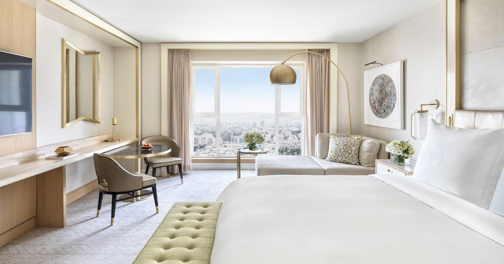 Four Seasons Amman Guest Room