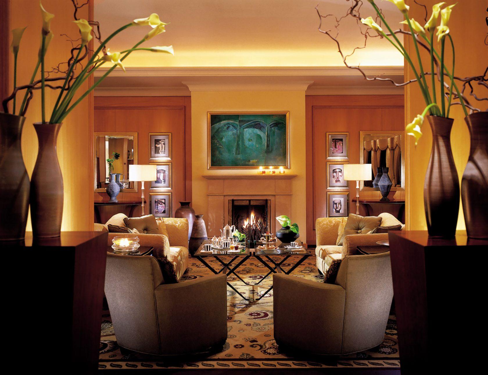 Four Seasons Amman Tea Lounge