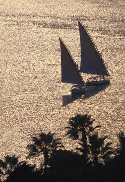 Four Seasons Cairo - Sonnenuntergang über dem Nil
