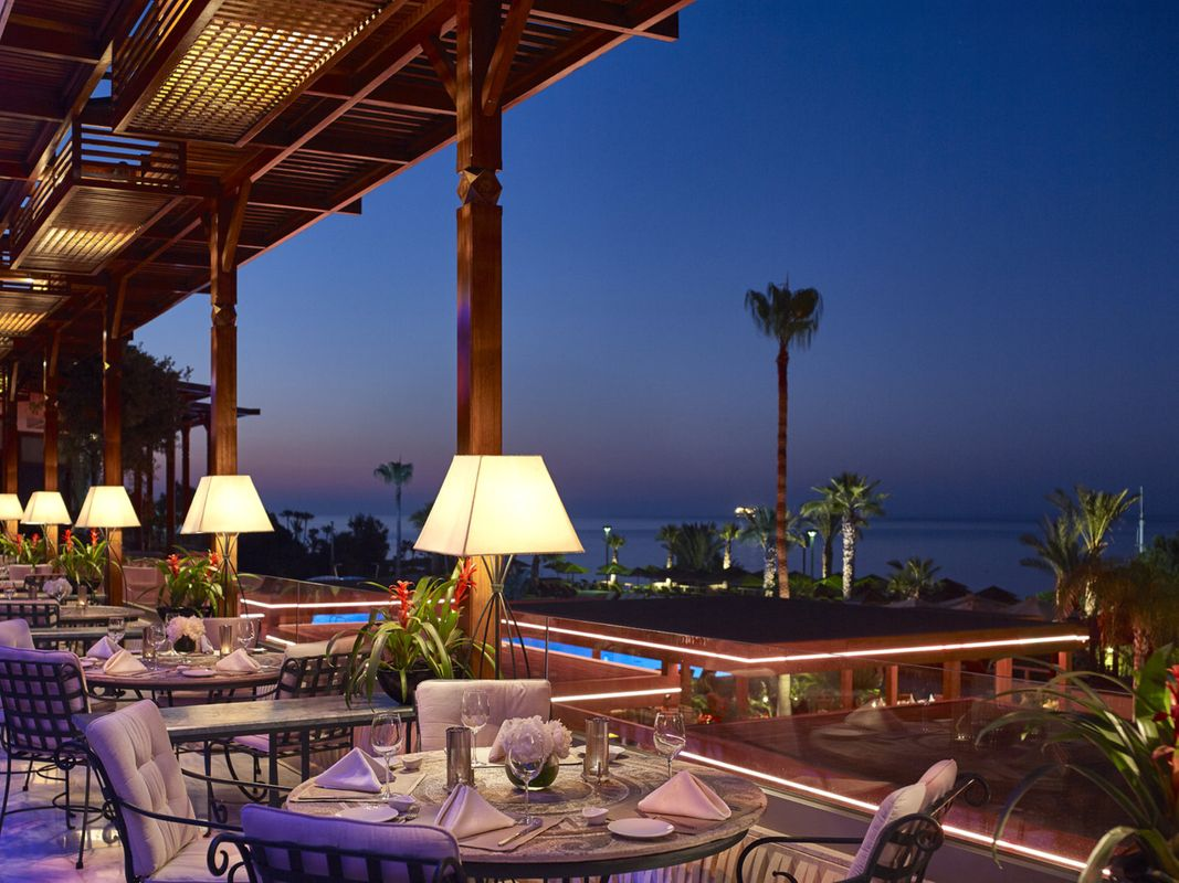 Four Seasons Cyprus Dining Evening