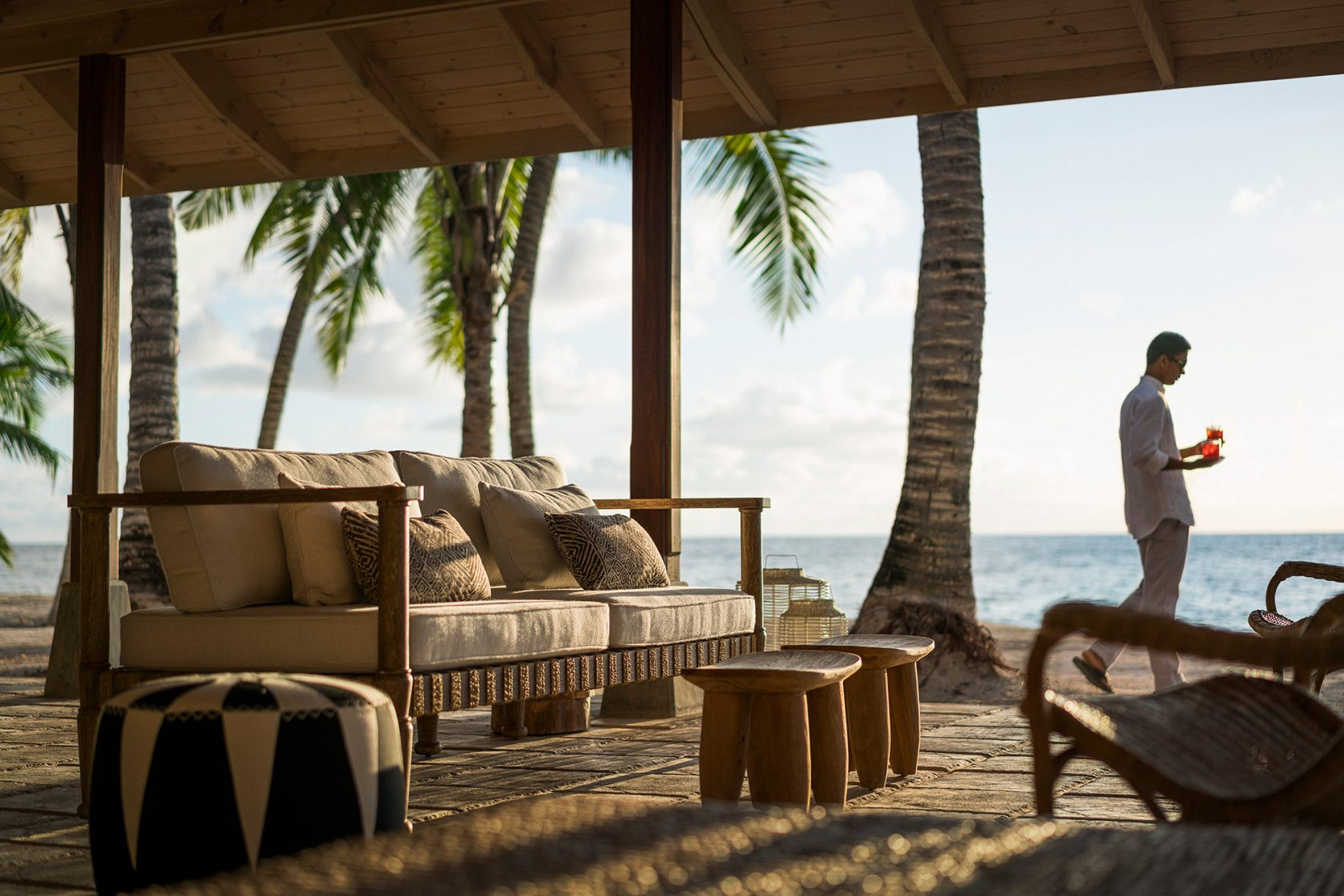 Four Seasons Resort Seychelles at Desroches Island – Beach Bar