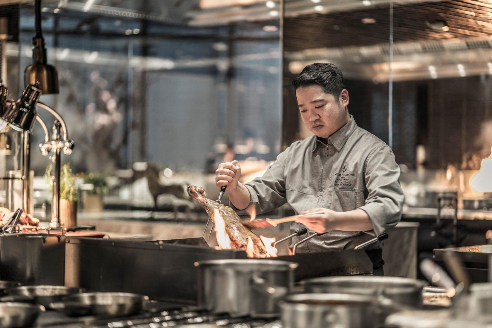 Four Seasons Kuala Lumpur Exzellente Küche