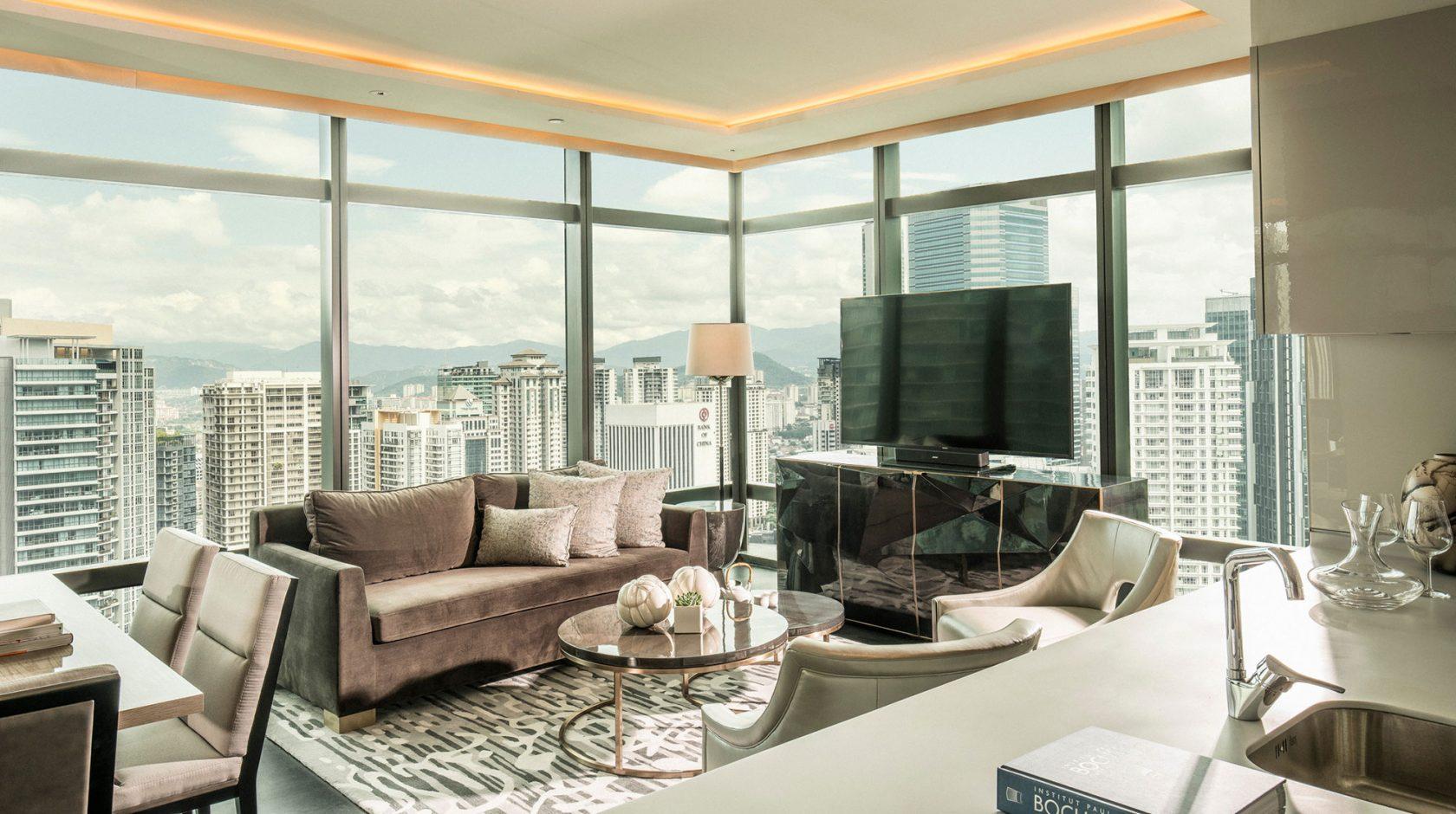 Four Seasons Kuala Lumpur Two Bedroom Appartement