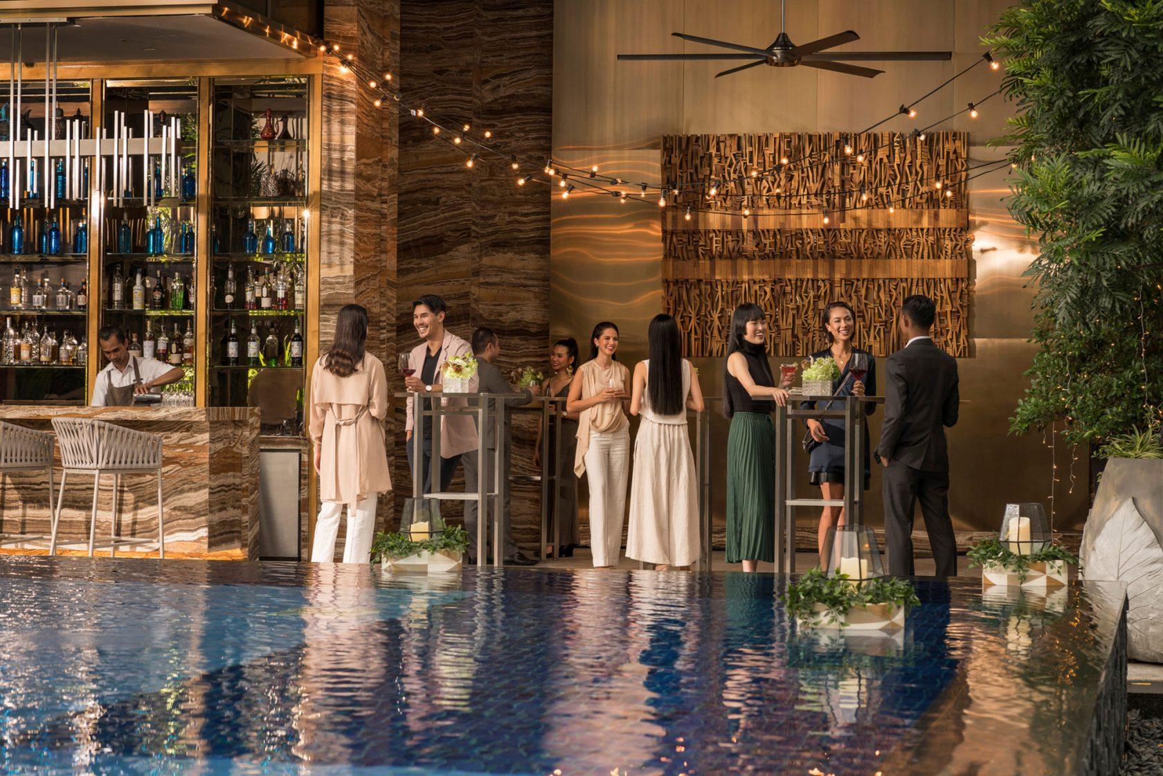 Four Seasons Kuala Lumpur Pool Party