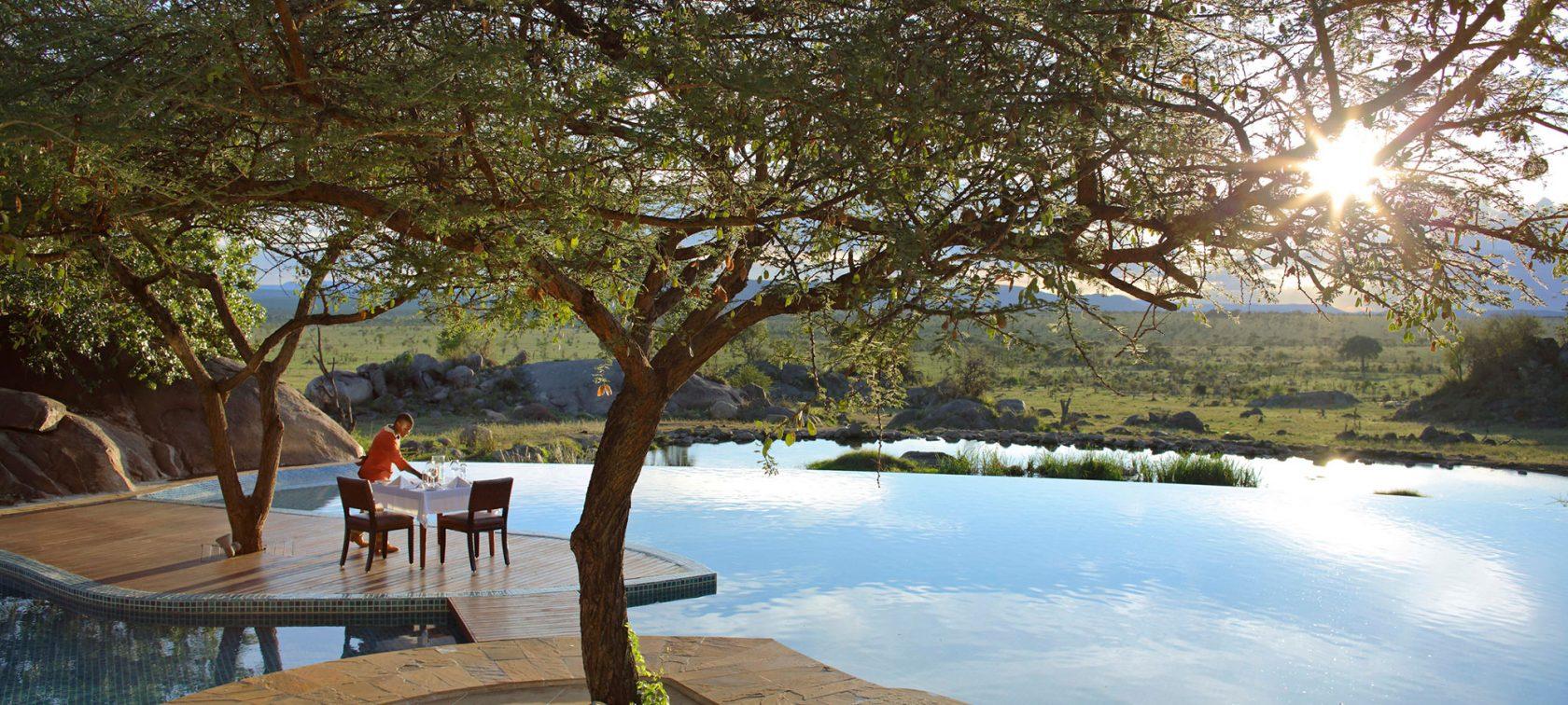 Four Seasons Safari Lodge Serengeti Ausblick
