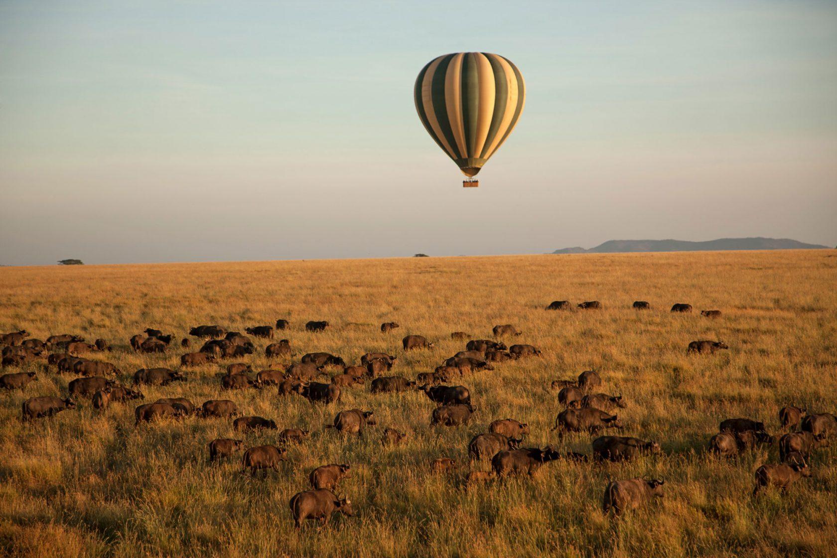 Four Seasons Safari Lodge Serengeti Ballon Tour
