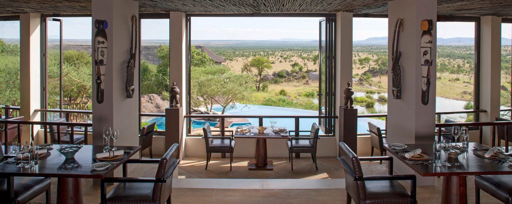 Four Seasons Safari Lodge Serengeti Kula`s Restaurant
