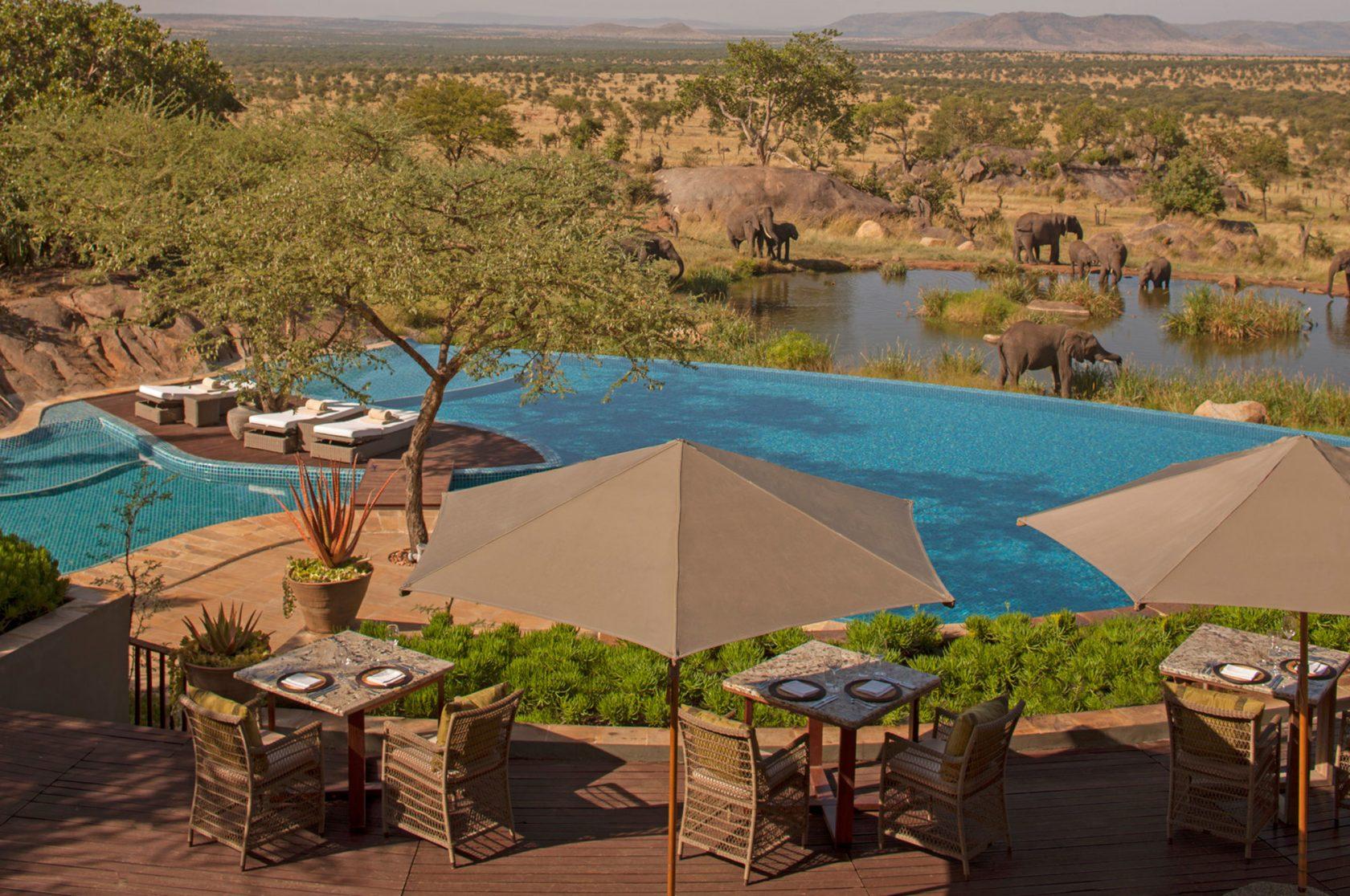Four Seasons Safari Lodge Serengeti Pool