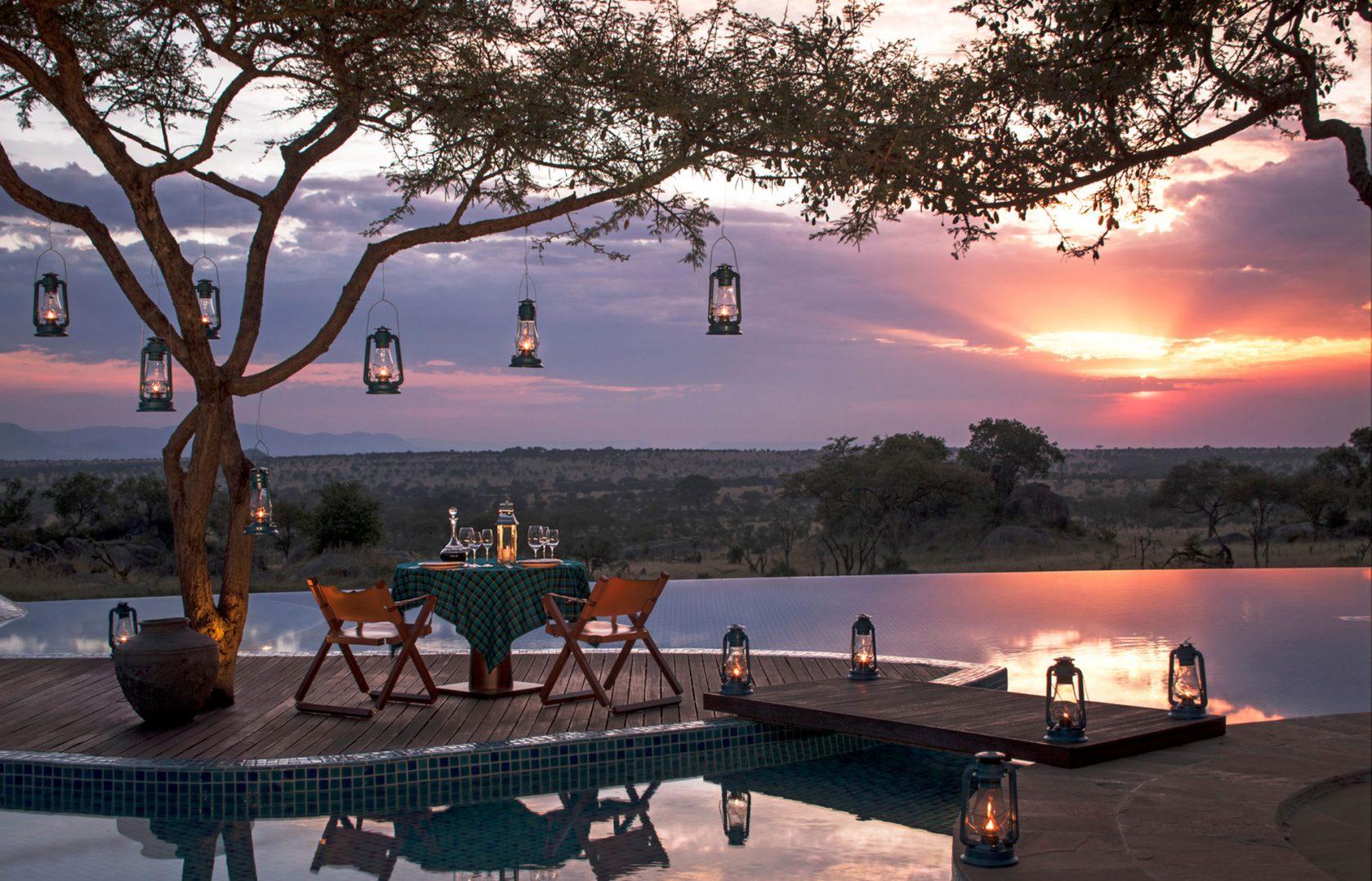 Four Seasons Safari Lodge Serengeti Private Dining
