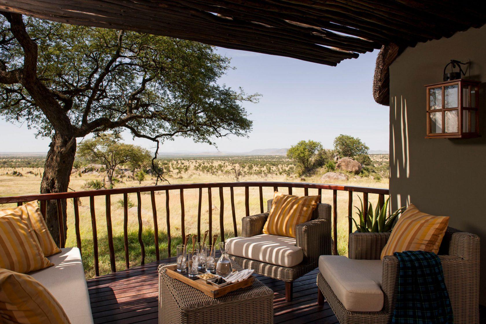 Four Seasons Safari Lodge Serengeti Room Terrace