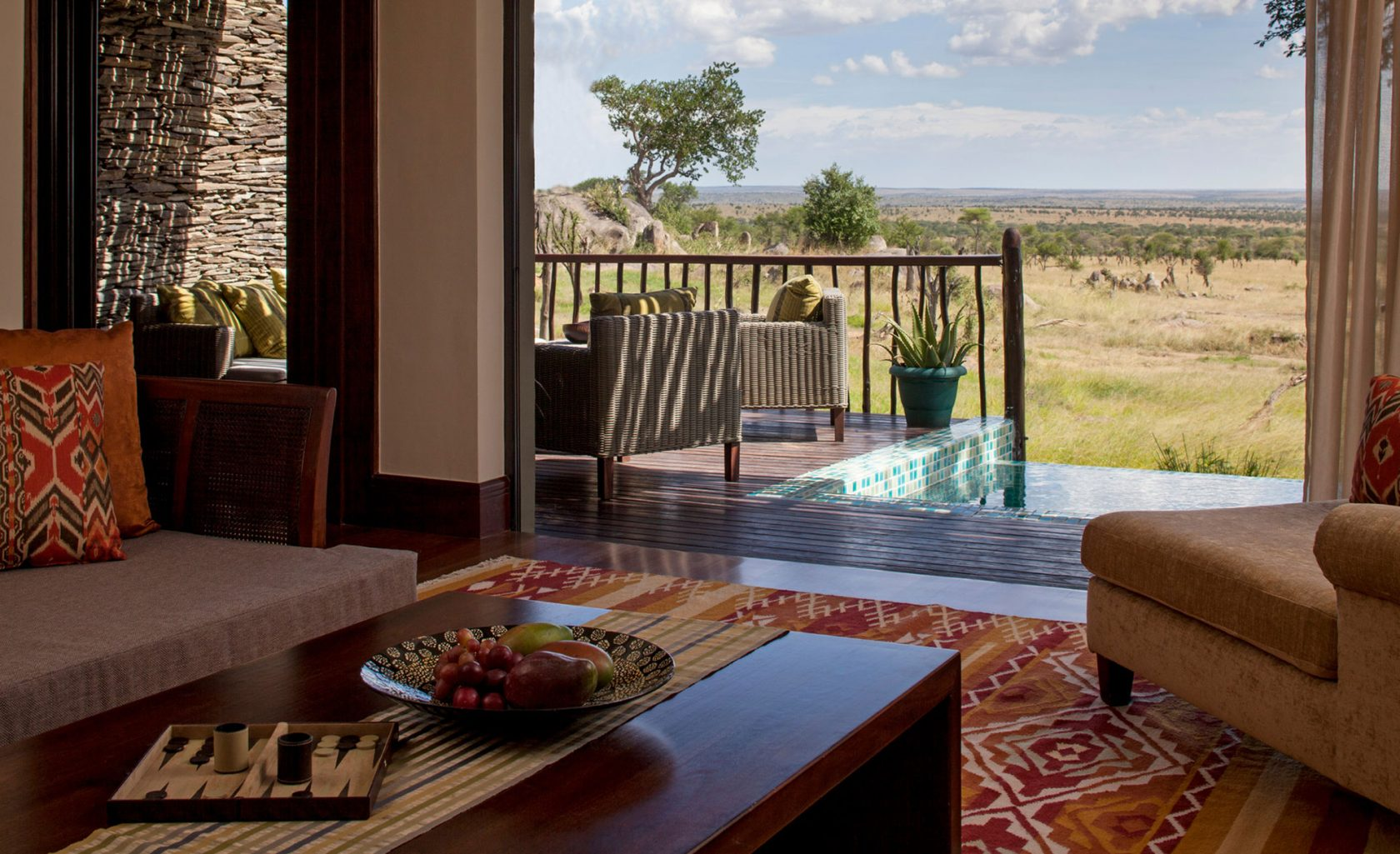 Four Seasons Safari Lodge Serengeti Terrace Suite