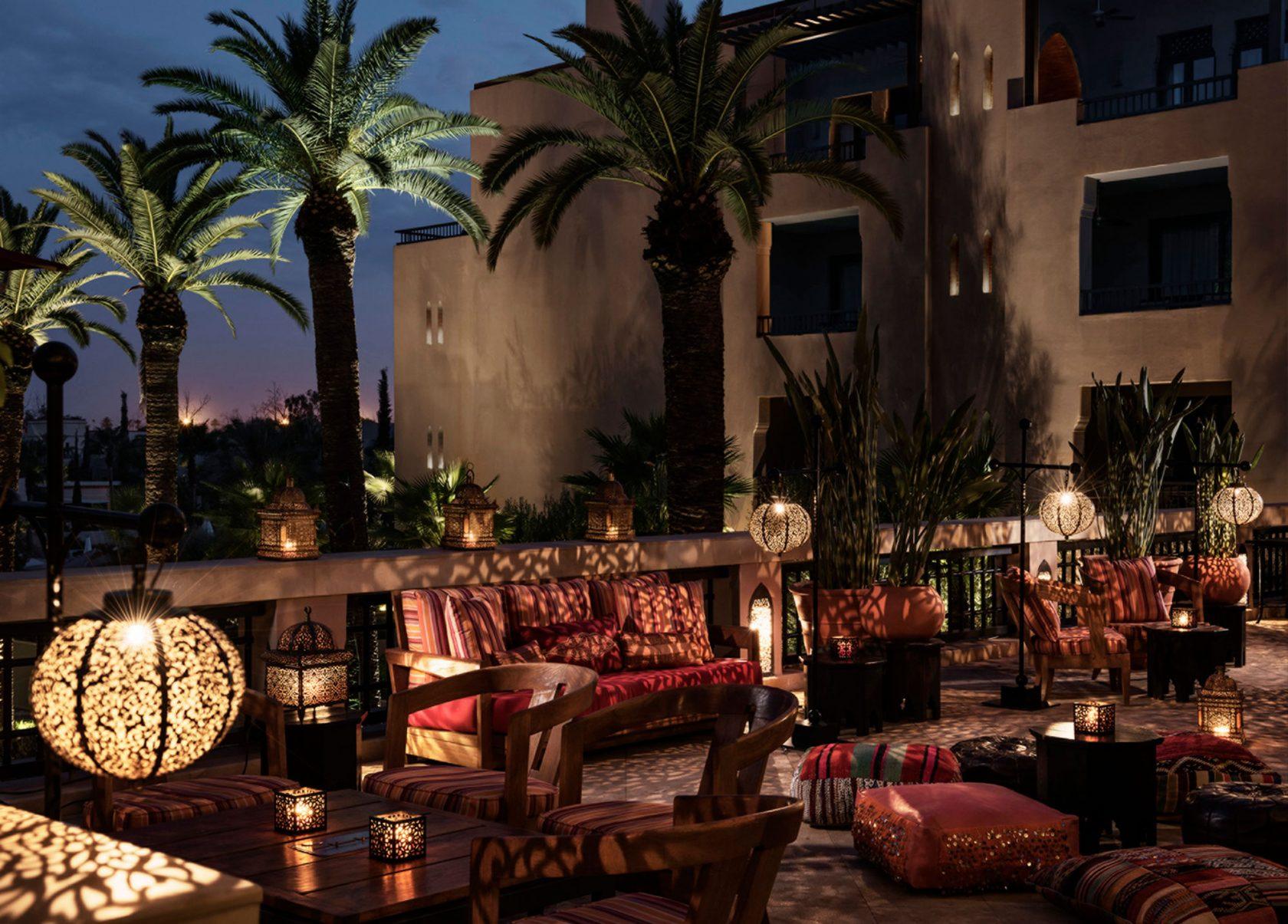Four Seasons Marrakesch by night