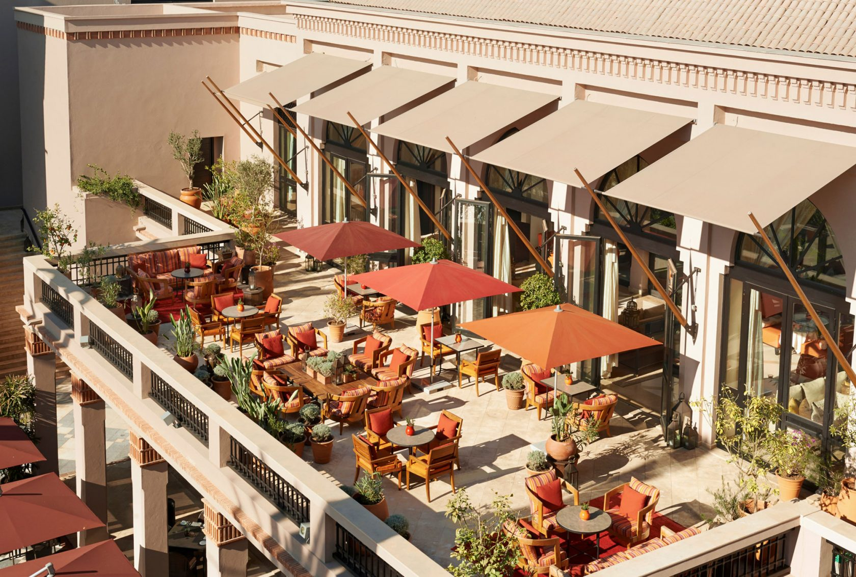 Four Seasons Marrakesch Inara Terrace
