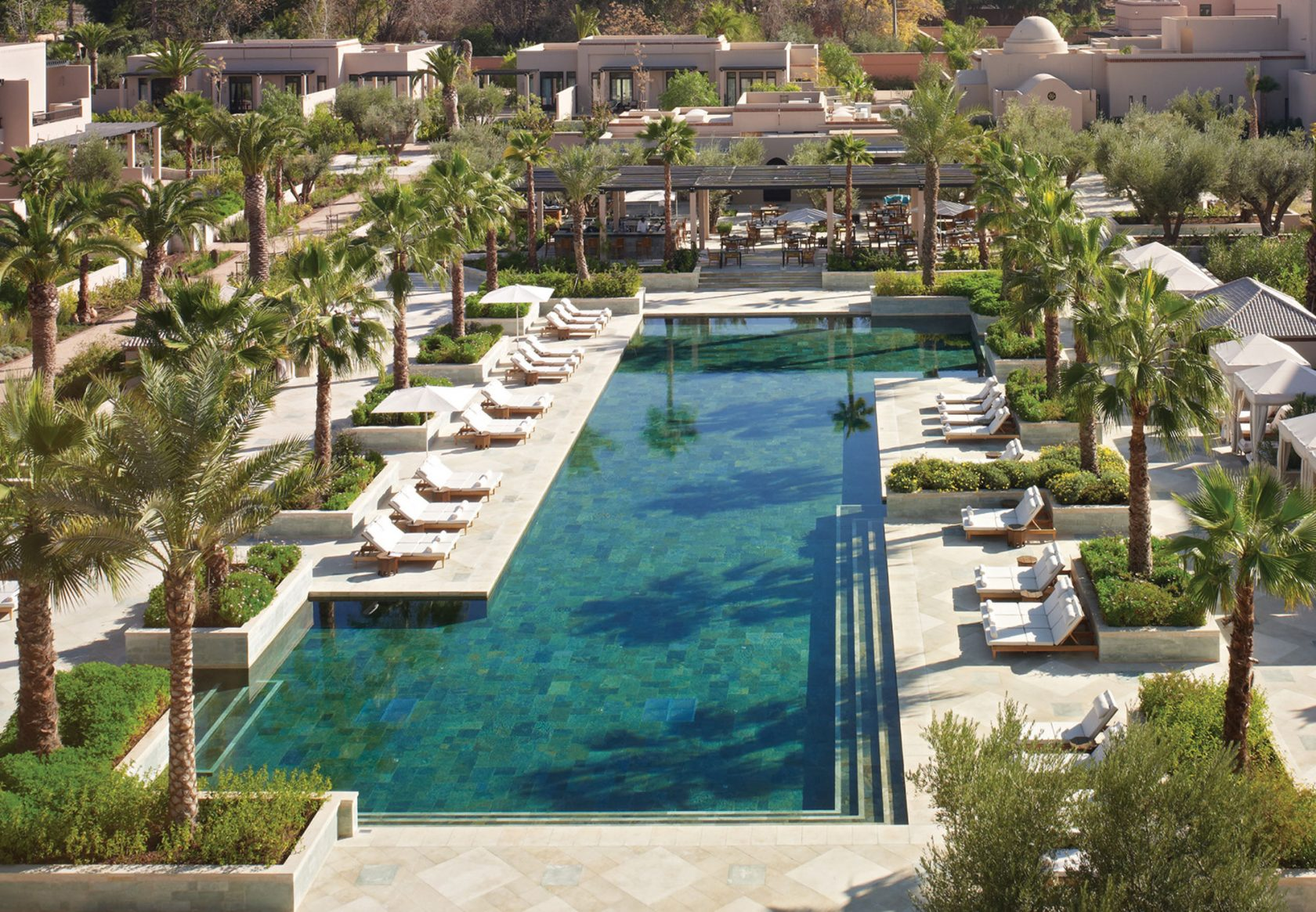 Four Seasons Marrakesch Pool area
