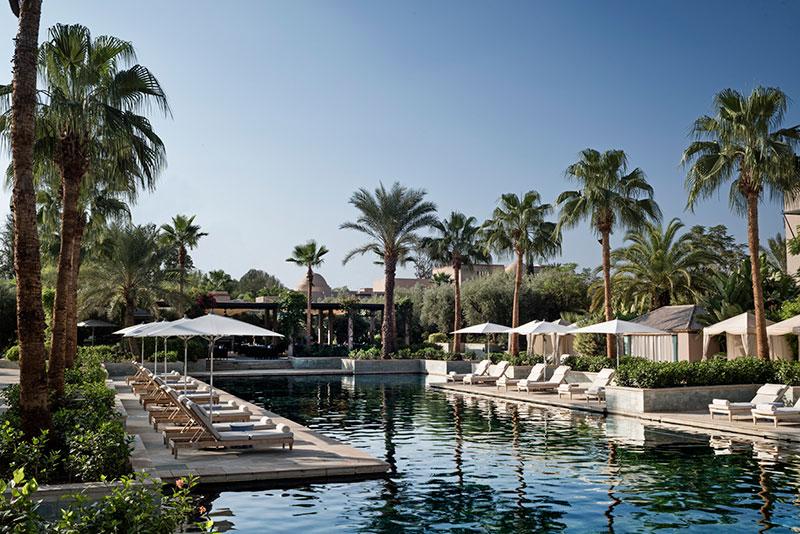 Four Seasons Marrakesch Pool
