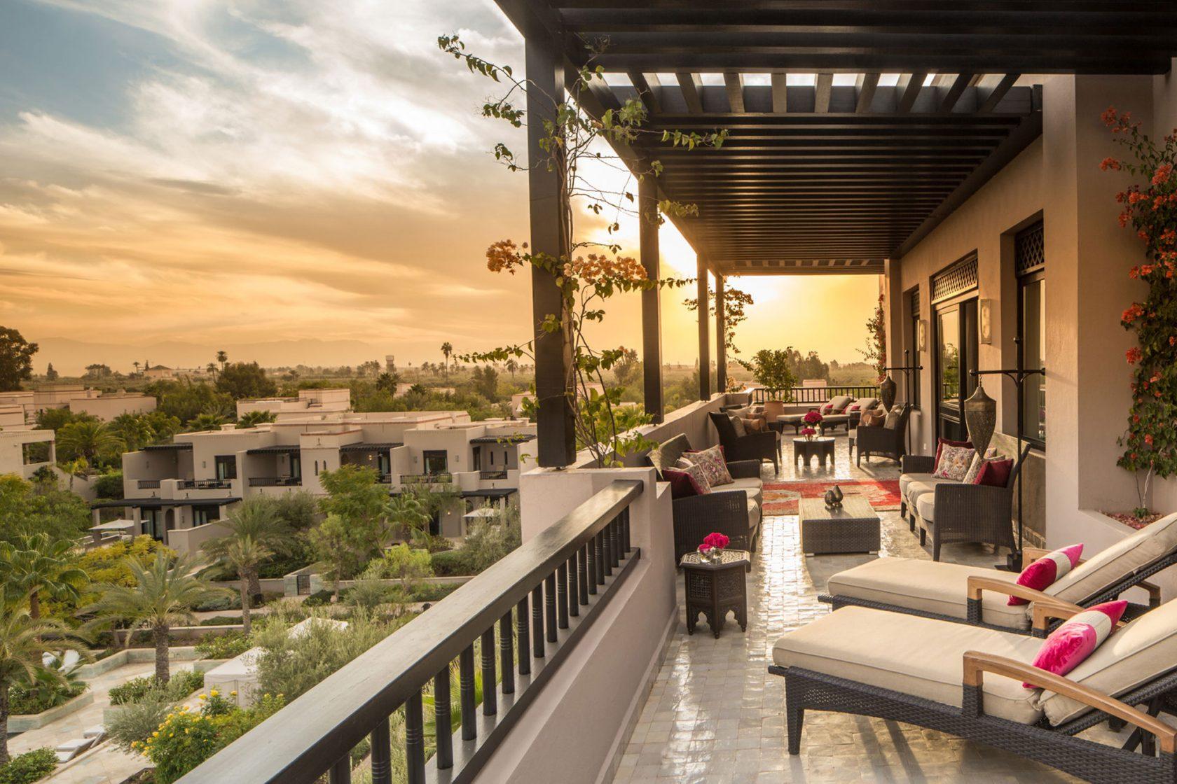 Four Seasons Marrakesch Presidential Suite Terrace