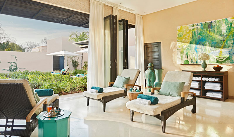Four Seasons Marrakesch Spa Lounge