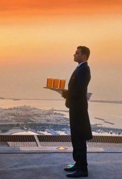 St. Regis Abu Dhabi – Helipad Dining