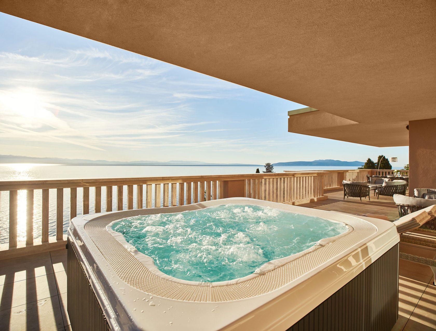 Ikador Luxury Boutique Hotel & Spa Presidential Suite Balkon