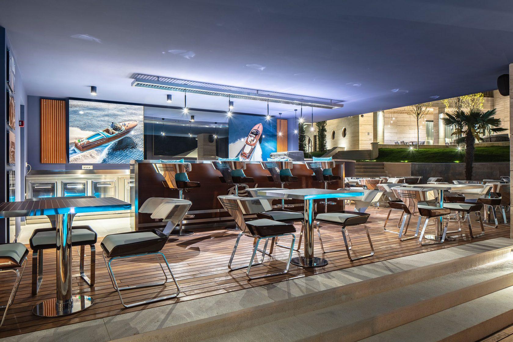 Ikador Luxury Boutique Hotel & Spa Riva Lounge Pool Bar