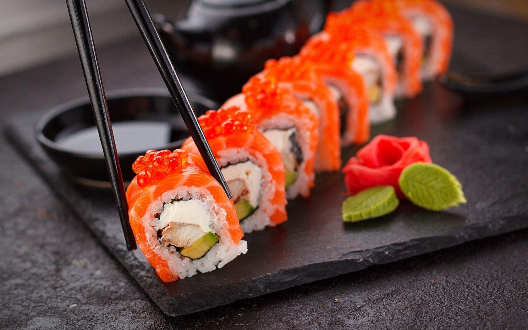Sushi Spezialität Japans
