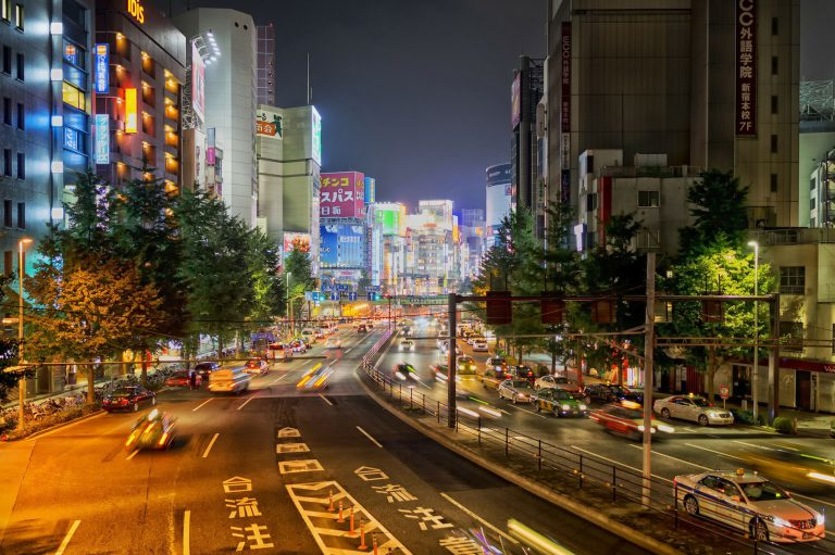 Japan Reise mit dem Shinkansen