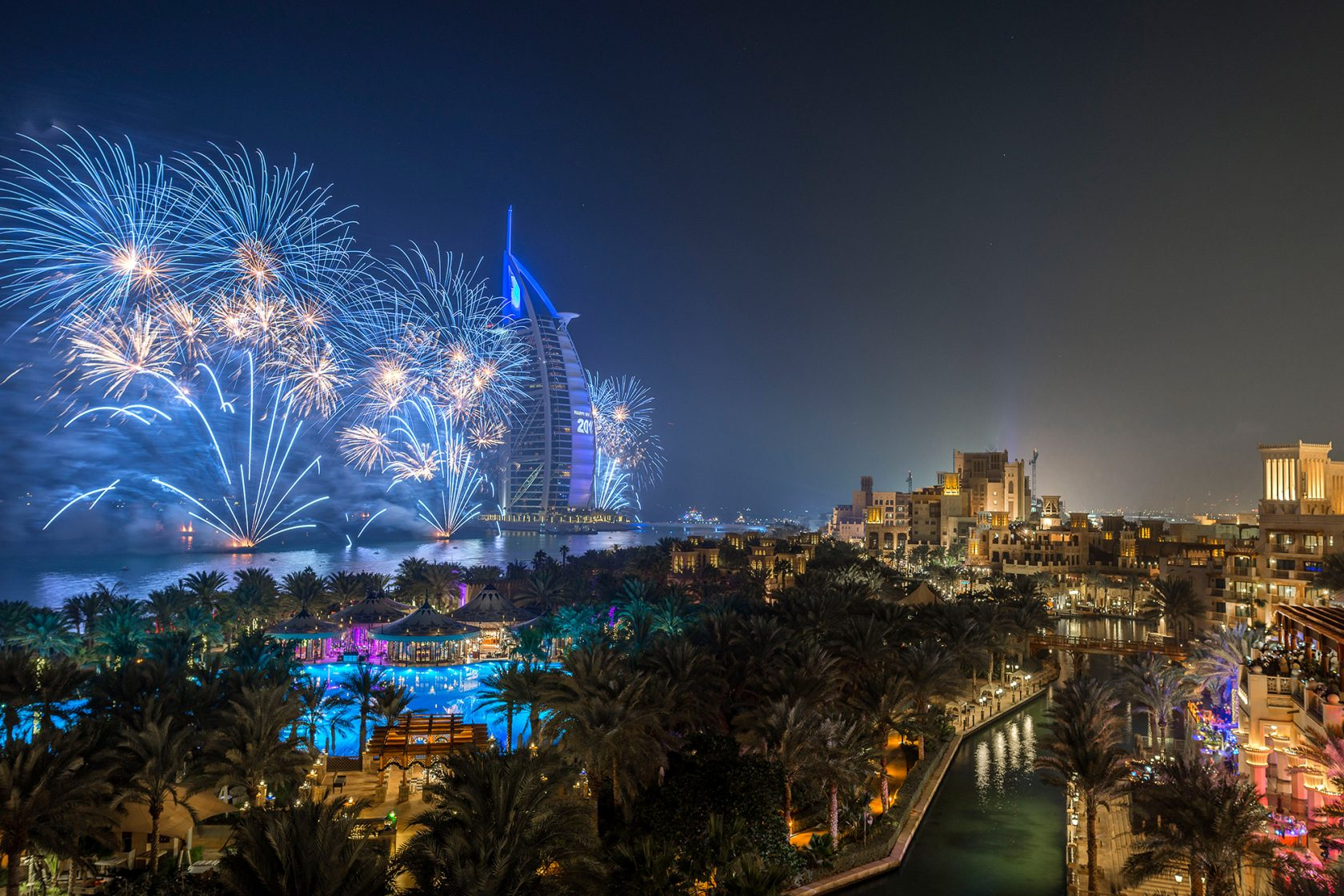 Madinat Jumeirah Al Qasr – Perfekt an Silvester