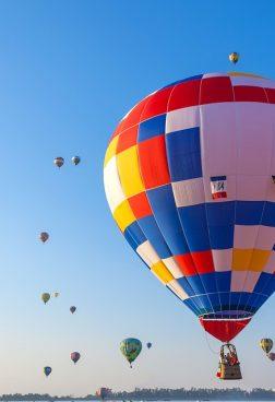 Jumeirah Emirates Towers - Heißluftballonfahren